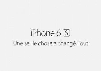 Nouvel Iphone 6s