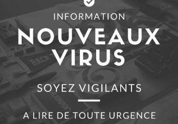 Information nouveaux virus 2016