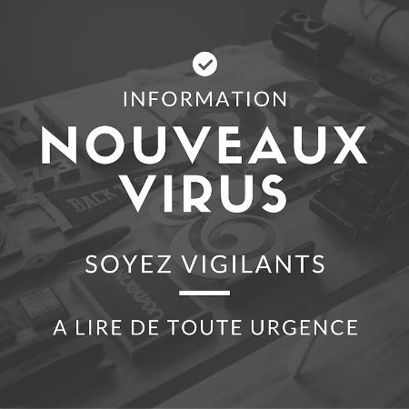 info nouveaux virus