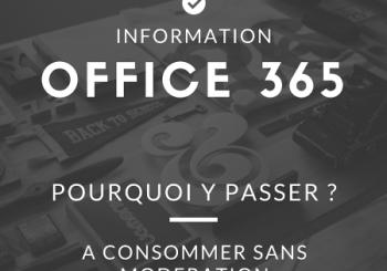 Pourquoi passer à Office 365 de Microsoft ?