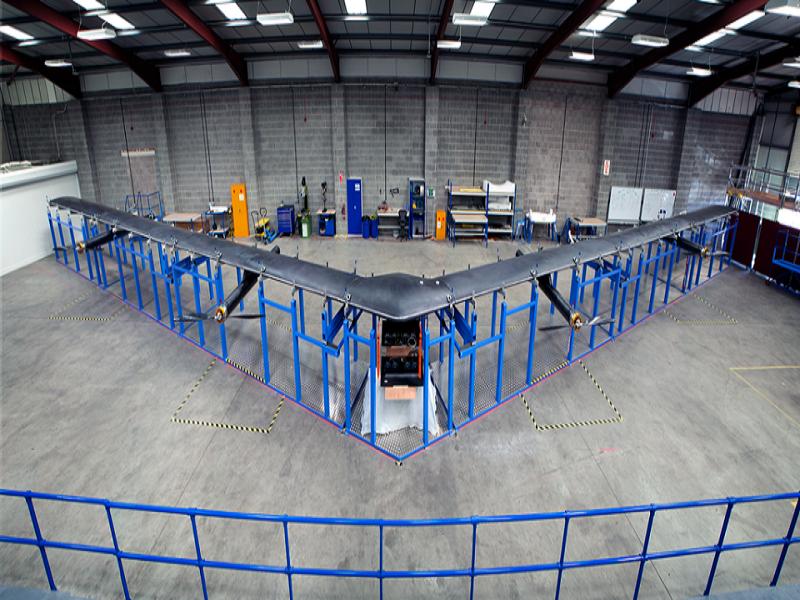 Le drone Facebook vise à rendre internet planétaire